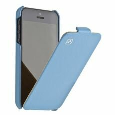 Чехол HOCO Duke Leather Case голубой для iPhone 5