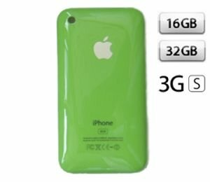 Apple iPhone 3GS Зелёный