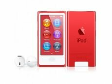 Apple iPod Nano 7G 16GB красный