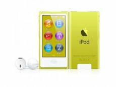 Apple iPod Nano 7G 16GB жёлтый
